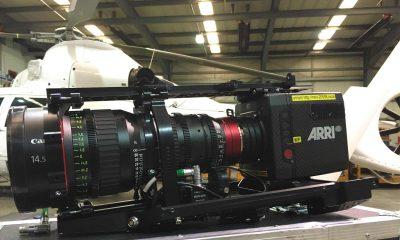 Arri Alexa Mini camera Shotover F1 payload