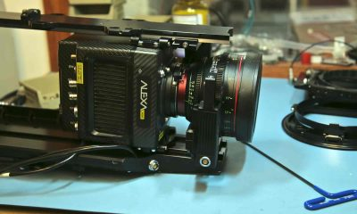 Arri Alexa Mini with Canon prime lens for Shotover F1