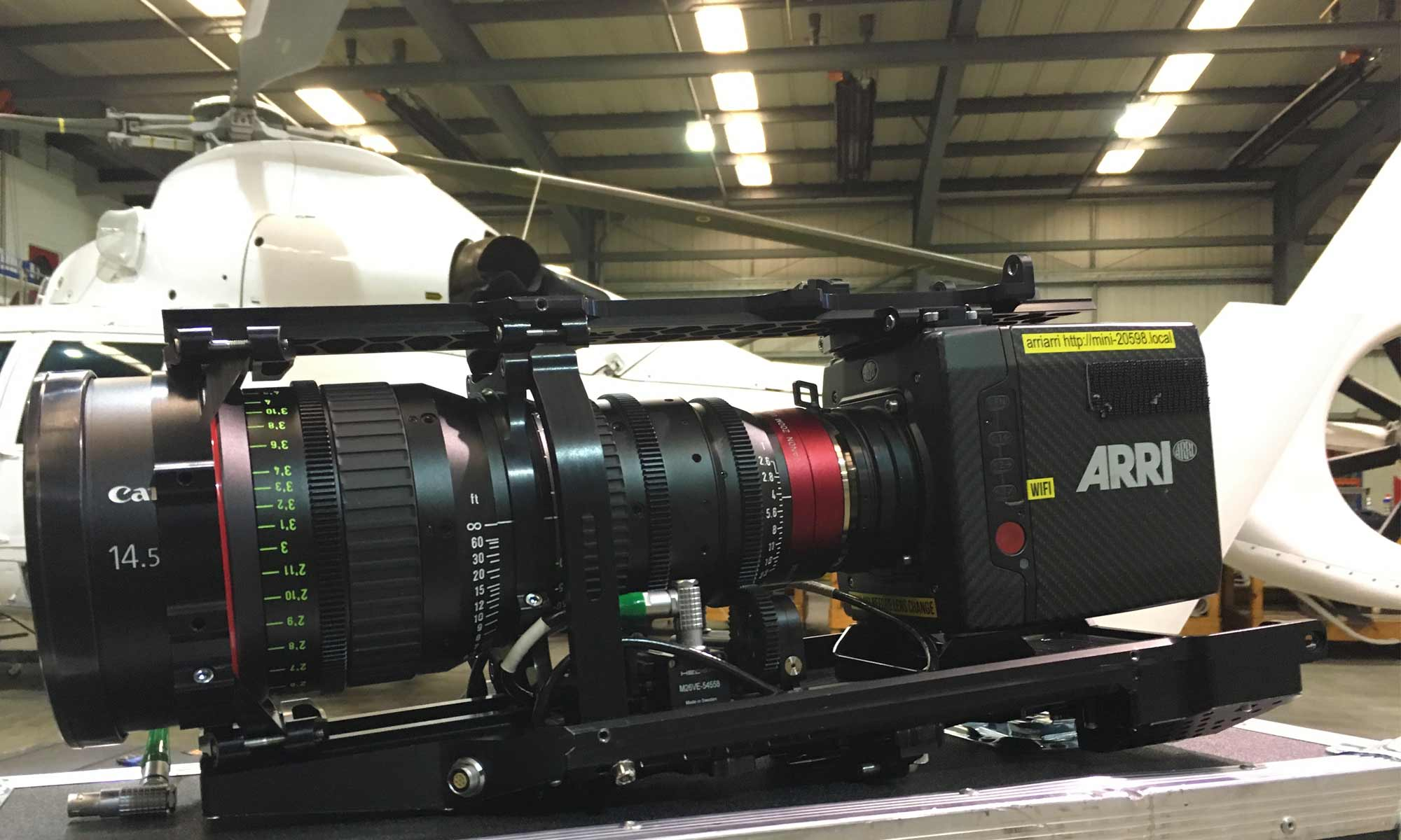 Arri Alexa Mini camera Shotover F1 payload
