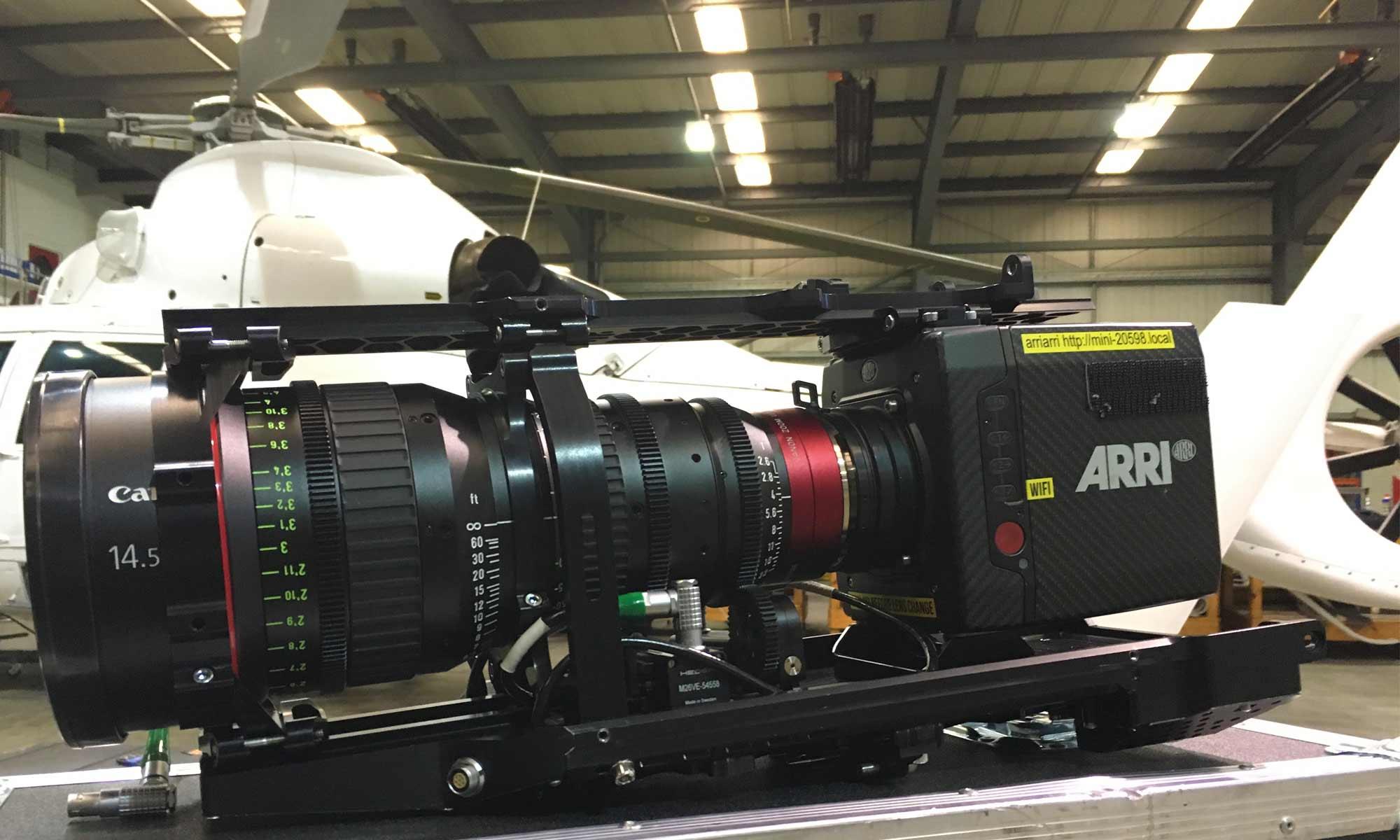 Arri Alexa Mini Shotover F1 Integration | PDG Film Services