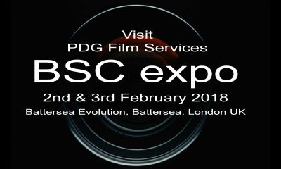 PDG Film Services exhibiting at BSC 2018