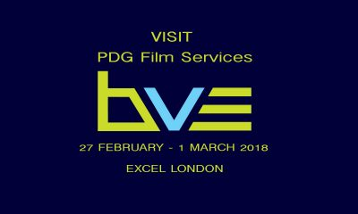 Visit PDG Film services at BVE 2018