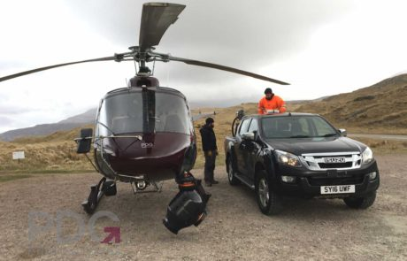 Aerial Filming for The Grand Tour