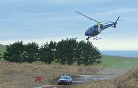PDG Film Services aerial filming for rally coverage