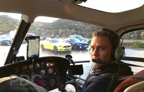 Aerial filming for Top Gear